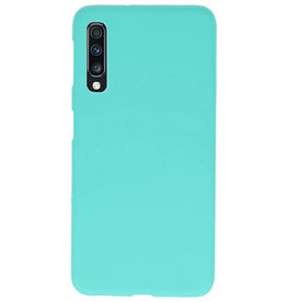Farbe TPU Fall für Samsung Galaxy A70 Türkis
