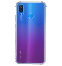 Schokbestendig TPU hoesje voor Huawei P Smart Plus Transpara met verpakking