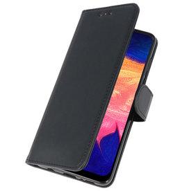 Bookstyle Wallet Cases Hülle für Samsung Galaxy A10 Schwarz