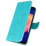 Bookstyle Wallet Cases Hülle für Samsung Galaxy A10 Grün