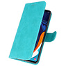 Bookstyle Wallet Cases Case for Samsung Galaxy A60 Green
