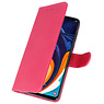 Bookstyle Wallet Cases Case for Samsung Galaxy A60 Pink