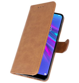 Bookstyle Wallet Cases Case for Huawei Y6 / Y6 Prime 2019 Brown