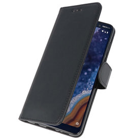 Bookstyle Wallet Cases Case for Nokia 9 PureView Black