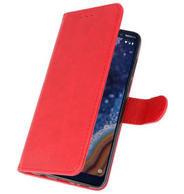 Bookstyle Wallet Cases Case for Nokia 9 PureView Red