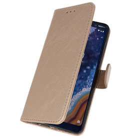 Bookstyle Wallet Cases Case for Nokia 9 PureView Gold