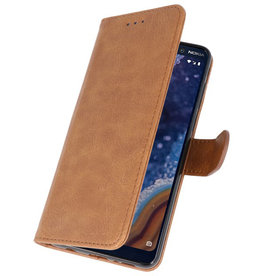 Bookstyle Wallet Cases Case for Nokia 9 PureView Brown