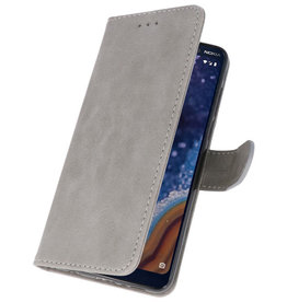 Bookstyle Wallet Cases Case for Nokia 9 PureView Gray