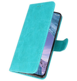 Bookstyle Wallet Cases Case for Nokia X71 Green