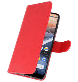 Bookstyle Wallet Cases Case for Nokia 3.2 Red