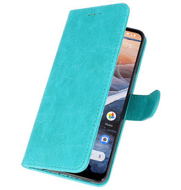 Bookstyle Wallet Cases Case for Nokia 3.2 Green