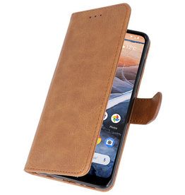 Bookstyle Wallet Cases Case for Nokia 3.2 Brown