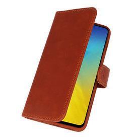 Rico Vitello Brown Genuine Leather Case for Samsung Galaxy 10e