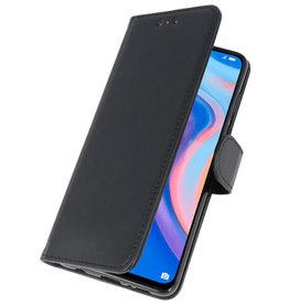 Bookstyle Wallet Cases Hülle für Huawei P Smart Z Schwarz