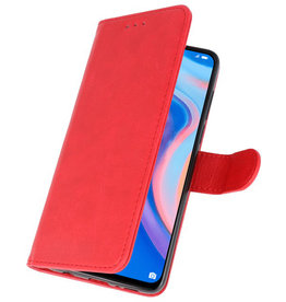 Bookstyle Wallet Cases Hoesje voor Huawei P Smart Z Rood