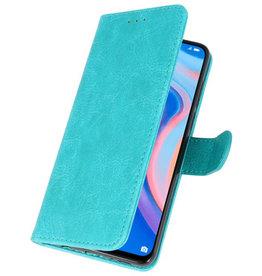 Bookstyle Wallet Cases Hoesje voor Huawei P Smart Z Groen