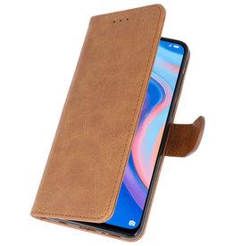 Bookstyle Wallet Cases Hoesje voor Huawei P Smart Z Bruin