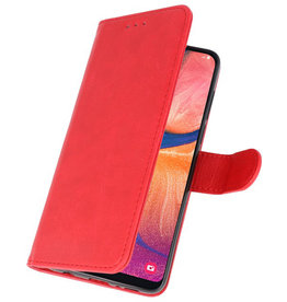 Bookstyle Wallet Cases Hülle für Samsung Galaxy A20e Rot