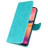 Bookstyle Wallet Cases Hülle für Samsung Galaxy A20e Grün