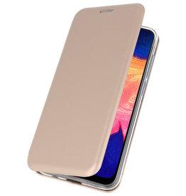 Slim Folio Case voor Samsung Galaxy A10 Goud