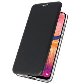 Slim Folio Case für Samsung Galaxy A20 Schwarz