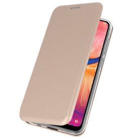 Slim Folio Hülle für Samsung Galaxy A20 Gold