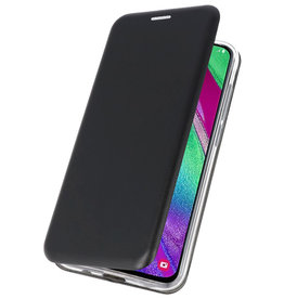 Slim Folio Case for Samsung Galaxy A40 Black