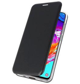Slim Folio Case voor Samsung Galaxy A70 Zwart
