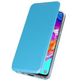 Slim Folio Hülle für Samsung Galaxy A70 Blue