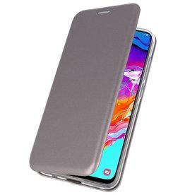 Slim Folio Case für Samsung Galaxy A70 Grau