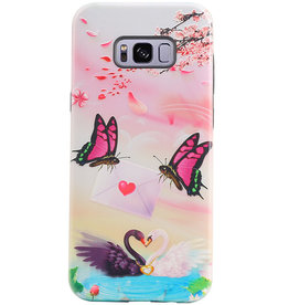 Butterfly Design Hardcase Backcover for Samsung Galaxy S8 Plus