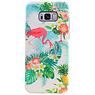 Flamingo Design Hardcase Backcover for Samsung Galaxy S8 Plus