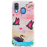 Butterfly Design Hardcase Backcover for Samsung Galaxy A40