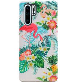 Flamingo Design Hardcase Backcover for Huawei P30 Pro