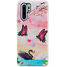 Butterfly Design Hardcase Backcover for Huawei P30 Pro