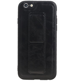 Grip Stand Hardcase Backcover for iPhone 6 Black