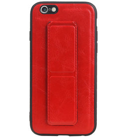 Grip Stand Hardcase Backcover für iPhone 6 Red