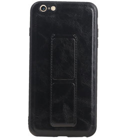 Grip Stand Hardcase Backcover for iPhone 6 Plus Black