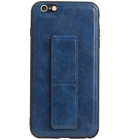 Grip Stand Hardcase Backcover für iPhone 6 Plus Blue