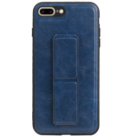 Grip Stand Hardcase Backcover for iPhone 8/7 Plus Blue