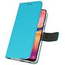 Wallet Cases Hoesje voor Samsung Galaxy A20 Blauw