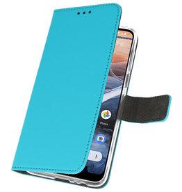 Wallet Cases Case for Nokia 3.2 Blue