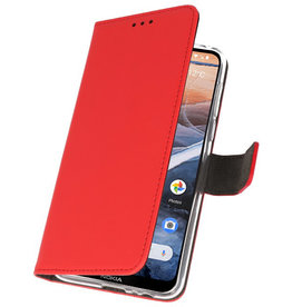 Wallet Cases Case for Nokia 3.2 Red