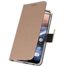 Wallet Cases Case for Nokia 3.2 Gold