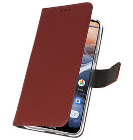 Wallet Cases Case for Nokia 3.2 Brown