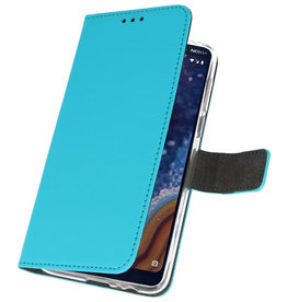 Wallet Cases Case for Nokia 9 PureView Blue