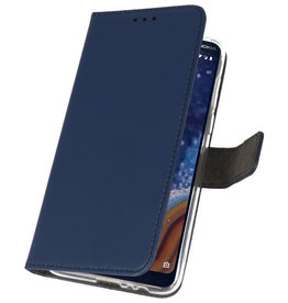 Wallet Cases Case for Nokia 9 PureView Navy