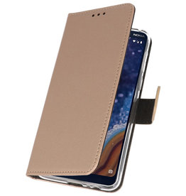 Wallet Cases Case for Nokia 9 PureView Gold