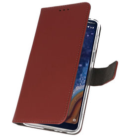 Wallet Cases Case for Nokia 9 PureView Brown