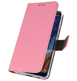 Wallet Cases Case for Nokia 9 PureView Pink